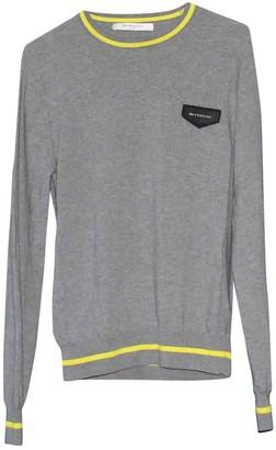 Givenchy Grey Cotton Knitwear & Sweatshirts