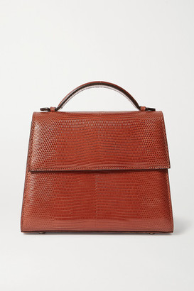 Hunting Season Medium Lizard Tote - Brown