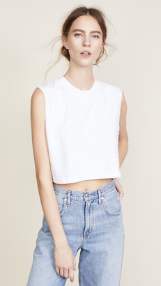 Cotton Citizen The Tokyo Crop Muscle Tee
