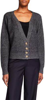 Co Cashmere Raglan-Sleeve Cardigan