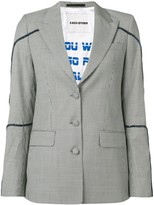Each X Other houndstooth blazer