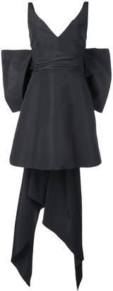 Carolina Herrera bow-embellished mini dress