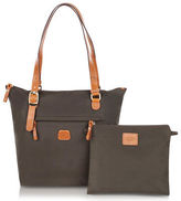 Bric's NEW X-Bag Olive Small Foldable Tote Bag