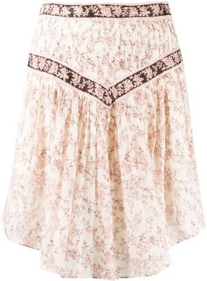 Etoile Isabel Marant Valerie floral print skirt