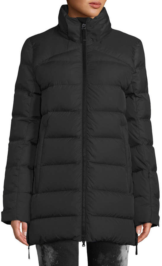 75537b5db Cathy Down-Filled Puffer Coat w/ Removable Hood