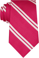 Club Room Men's Double Awning Stripe Tie, Only at Macy's
