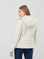 Joules Linden Short Padded Jacket - Ivory