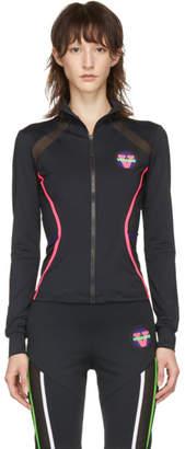 Versace Underwear Black 80s Zip-Up Jacket