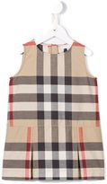 Burberry New Classic Check dress - kids - Cotton - 9 mth
