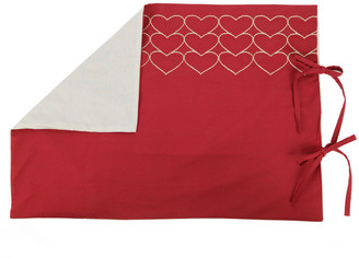 Sylvie Thiriez - Double Red Make A Wish Duvet Cover - Red