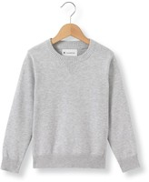 La Redoute Collections Plain Crew Neck Jumper, 3-12 Years