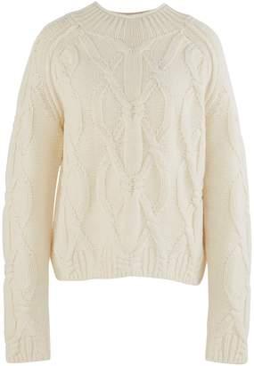 Acne Studios Kannick cable knit sweatshirt