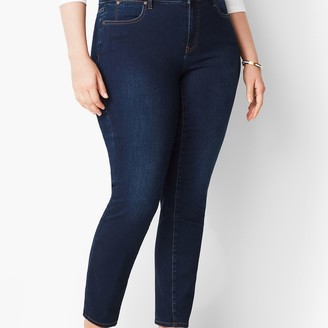 Talbots Plus Size Slim Ankle Jeans - Indy Wash