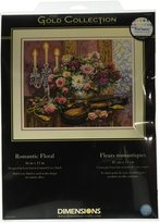 Dimensions Needlecrafts Counted Cross Stitch, Romantic Floral