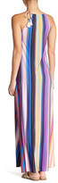 Pilyq Reign Striped Maxi Cover-Up