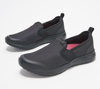 Vionic Mesh Double Gore Slip-On Shoes - Julianna