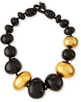 Viktoria Hayman Freeform Beaded Chunky Necklace