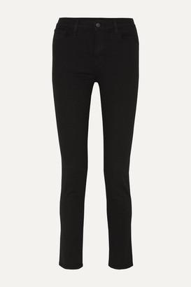 "J Brand Photo Ready Ruby 30"" High-rise Slim-leg Jeans - Black"