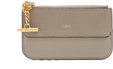 Chloé Drew leather coin purse and cardholder