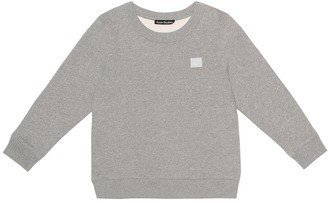 Acne Studios Kids Mini Fairview Face cotton sweatshirt