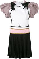 DSQUARED2 puff shoulder mini dress - women - Cotton/Virgin Wool/Spandex/Elastane/Polyester - 40