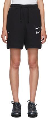 Nike Black NSW Swoosh Shorts