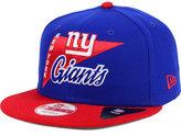 New Era New York Giants Logo Stacker 9FIFTY Snapback Cap