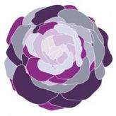 Imagination Collection Rose Stretched Wall Art