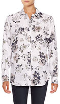 Lord & Taylor Allover Floral Printed Shirt