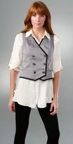 Rag & Bone Double Breasted Vest