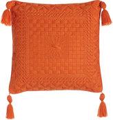 Trina Turk Caribbean Orange Bargello Pillow