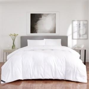 J Queen New York Regency Sateen 300 Thread Count Cotton Allergen Barrier Down Alternative Comforter - Twin