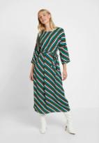 Culture Verdant Green Curosalinde Dress - s | viscose | striped | green - Green/Green
