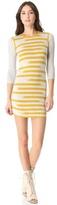 Gryphon Broken Stripe Dress