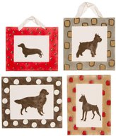 Cotton Tale Designs 4 Piece Wall Art, Houndstooth