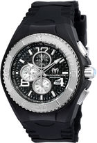 Technomarine TECHNO MARINE Techno Marine Mens Black Strap Watch-Tm-115307