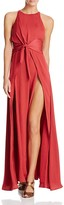 Style Stalker Stylestalker Hera Tie Front Maxi Dress