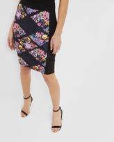 MACEN Lost Gardens pencil skirt