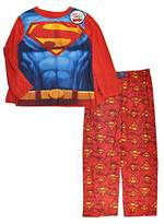 Superman Boys Long Sleeve Caped Top 2pc Pajama Pant Set