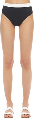 Aexae High Cut Nylon & Lycra Bikini Bottoms