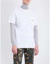Penfield Brand-patch cotton-jersey T-shirt