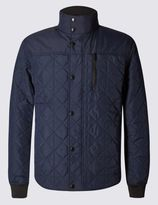 Marks and Spencer Slim Fit Shirt Jacket with StormwearTM