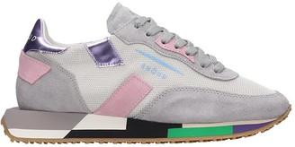 GHOUD Rush Sneakers In Grey Tech/synthetic