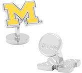Cufflinks Inc. Men's Palladium Michigan Wolverines Cufflinks
