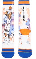 Stance Men's 'Patrick Ewing' Watercolor Print Socks