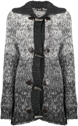 Dolce & Gabbana Pre-Owned 1990s knitted duffle cardigan