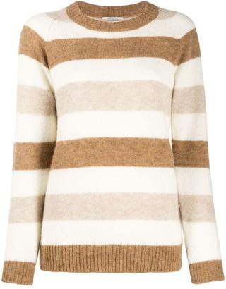 Woolrich Long Sleeve Block Stripe Jumper