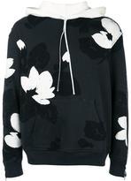 3.1 Phillip Lim floral pattern hoodie