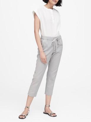 Banana Republic JAPAN EXCLUSIVE Hayden Tapered-Fit Linen-Cotton Pant
