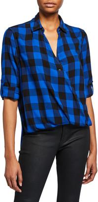 Rag & Bone Camille Plaid Button-Front Shirt